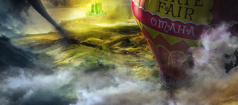 Make a Hot Air Balloon Scene From the Wizard of Oz