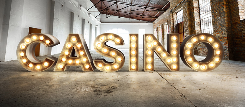 Make a Realistic 3D Casino Style Bulb Sign