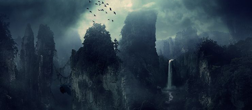 Create This Dark Matte Landscape Composite in Photoshop