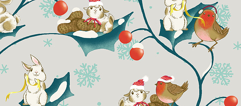 How to Create a Winter Festive Pattern in Adobe Photoshop