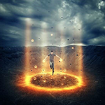 Create Floating Superhero Scene With Sci-fi Lighting Effects