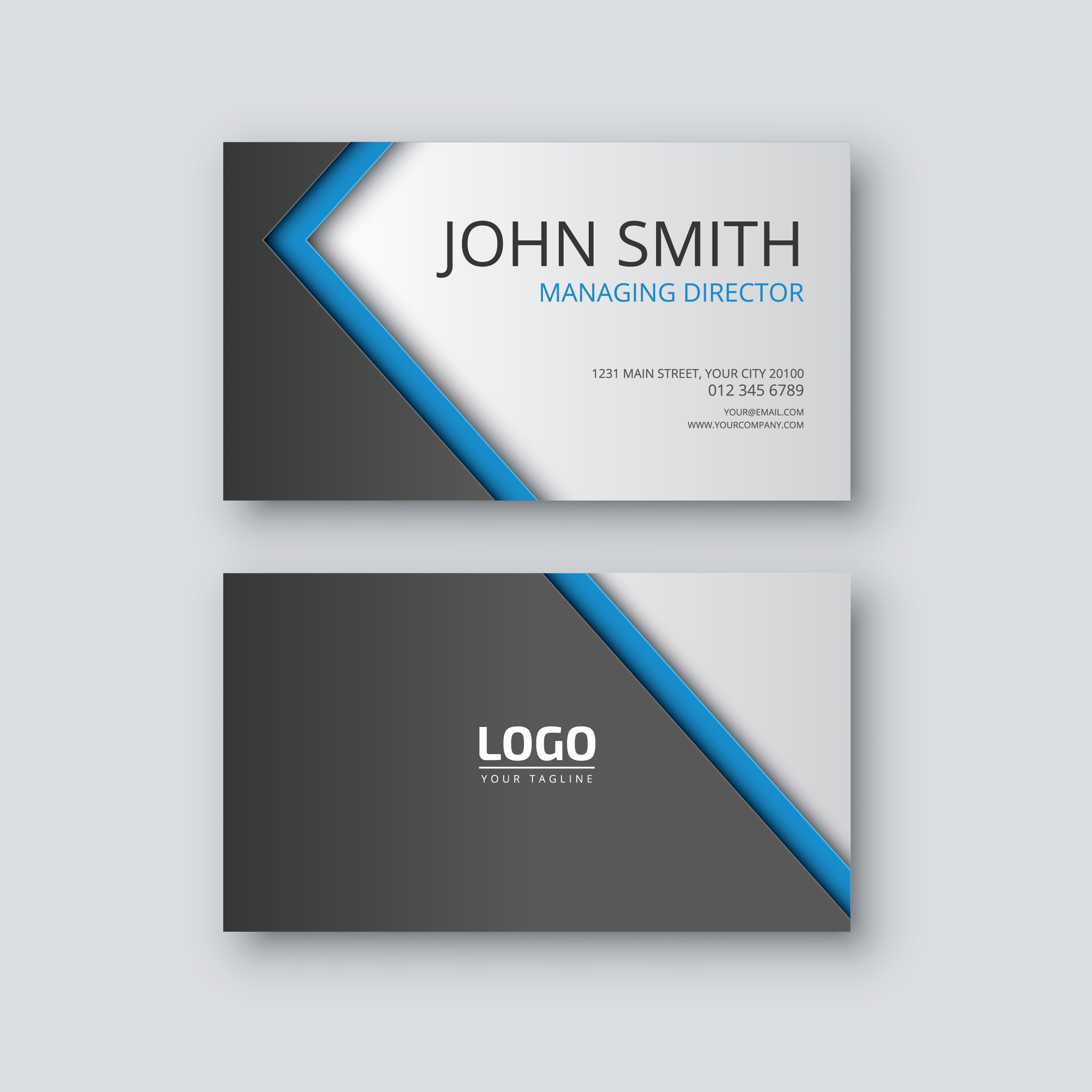 How To Design A Stunning Business Card In Photoshop